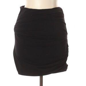 Elizabeth and James Black Casual Skirt